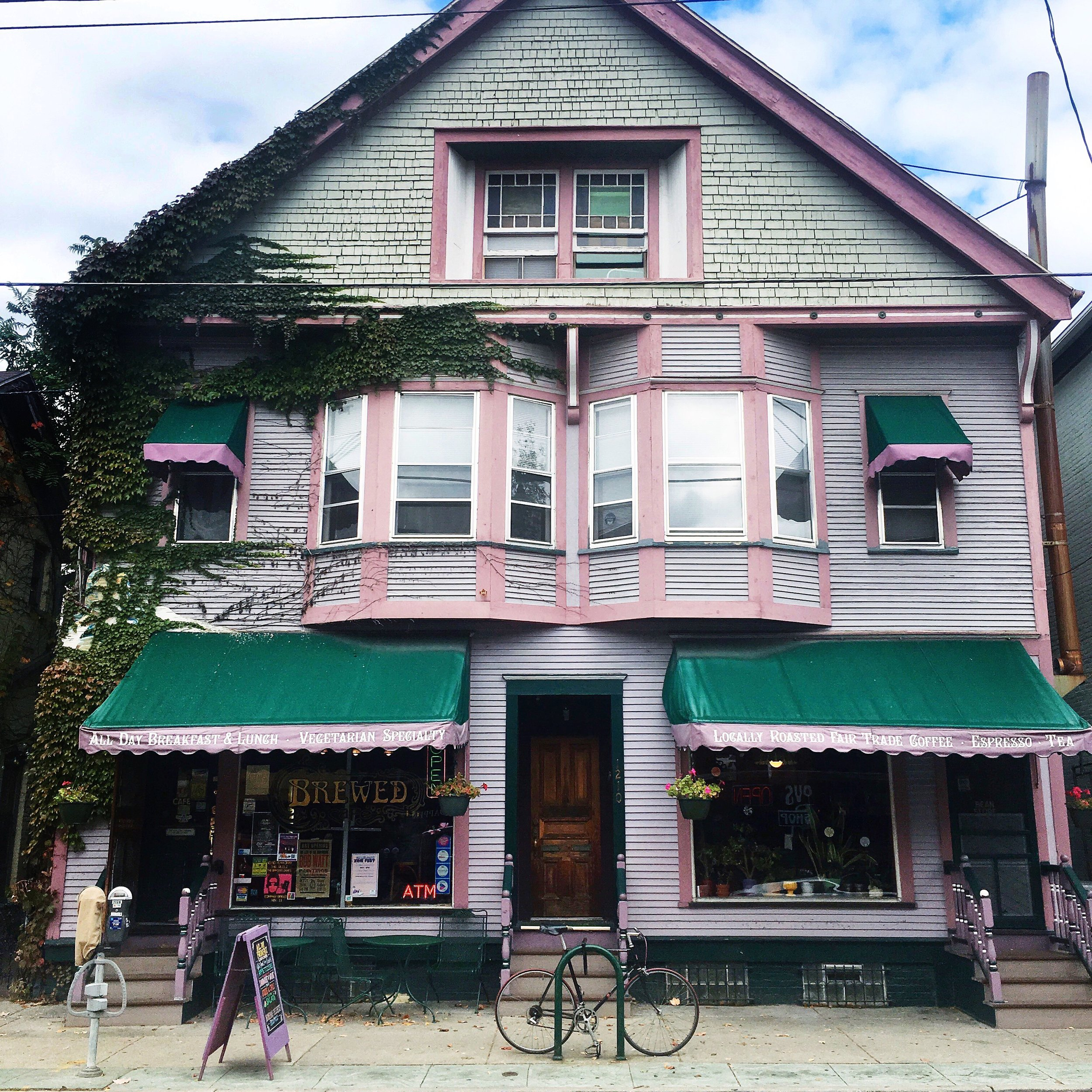Restaurants along Brady Street
