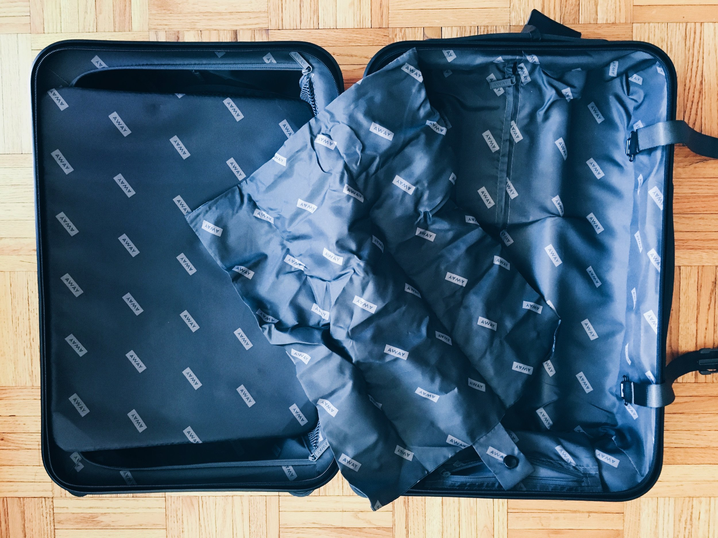 Laundry Bag in Carry-On Luggage