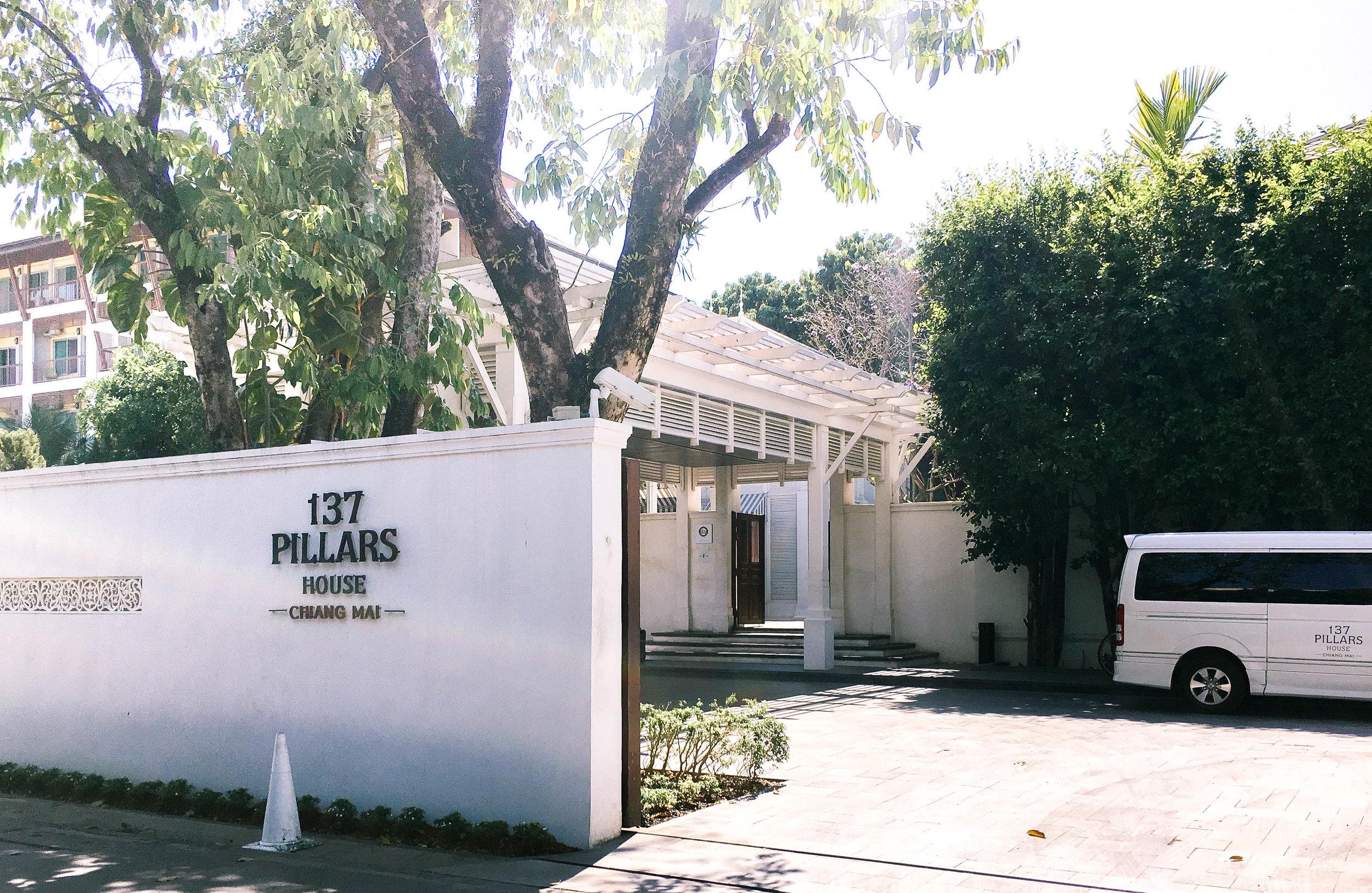137 Pillars Entrance