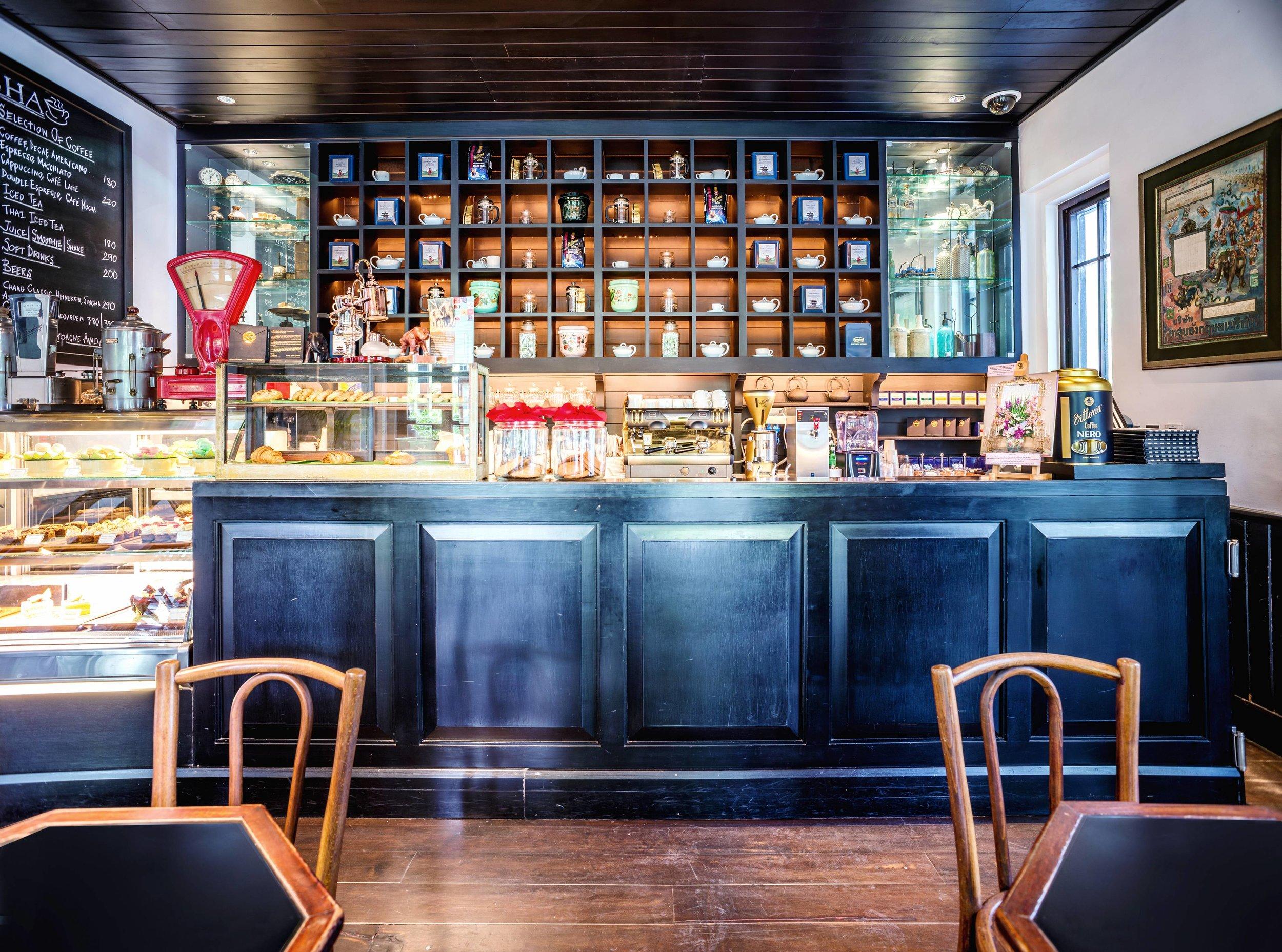 Café Cha - Photo Courtesy of The Siam Hotel