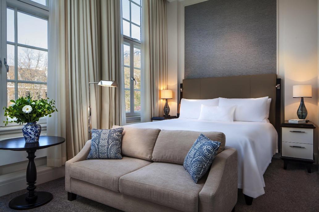 Images via  Waldorf Astoria Amsterdam