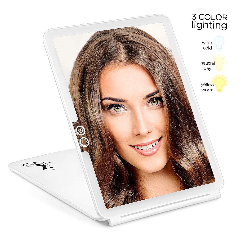 LED Travel Mirror