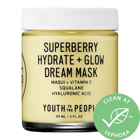 YTTP Superberry Hydrate + Glow Mask