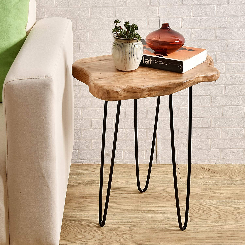 WELLAND Wood Side Table