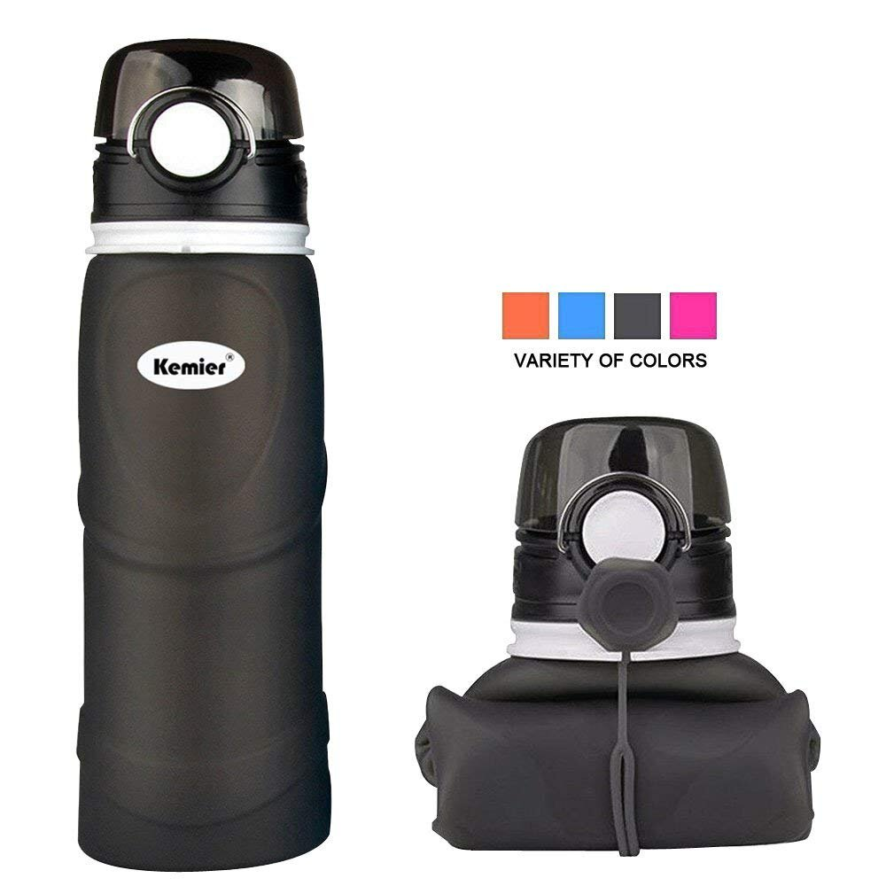 Kemier Collapsible Water Bottle