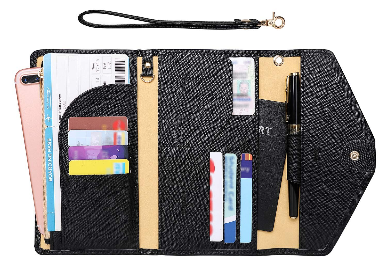 Zoppen Passport Holder Travel Wallet