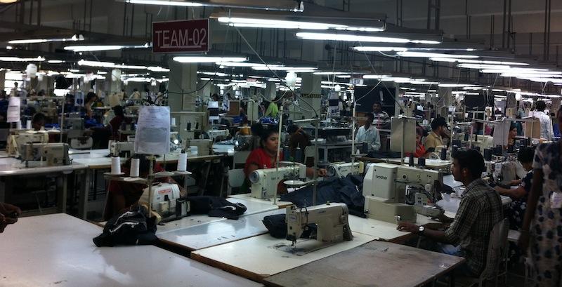 One of Shahi's factories in Karnataka