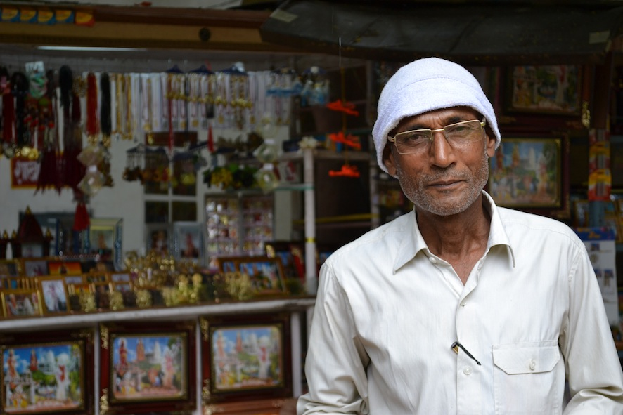 Gulab Singh was able to start his own photography business catering to the influx of local tourists to the temple Punj Lloyd constructed. He was able to build a concrete house, put all of his children in school and buy a motorbike.
