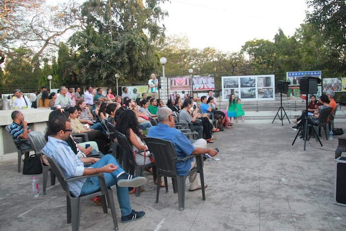 Up on the roof: Sunil Gupta's talk at Jehangir's Terrace Galllery