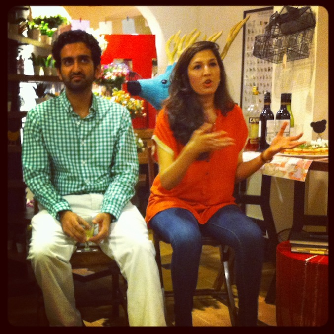 The indomitable Suchita from LBBD, with Ashmeet Kapoor, founder of I Say Organic.