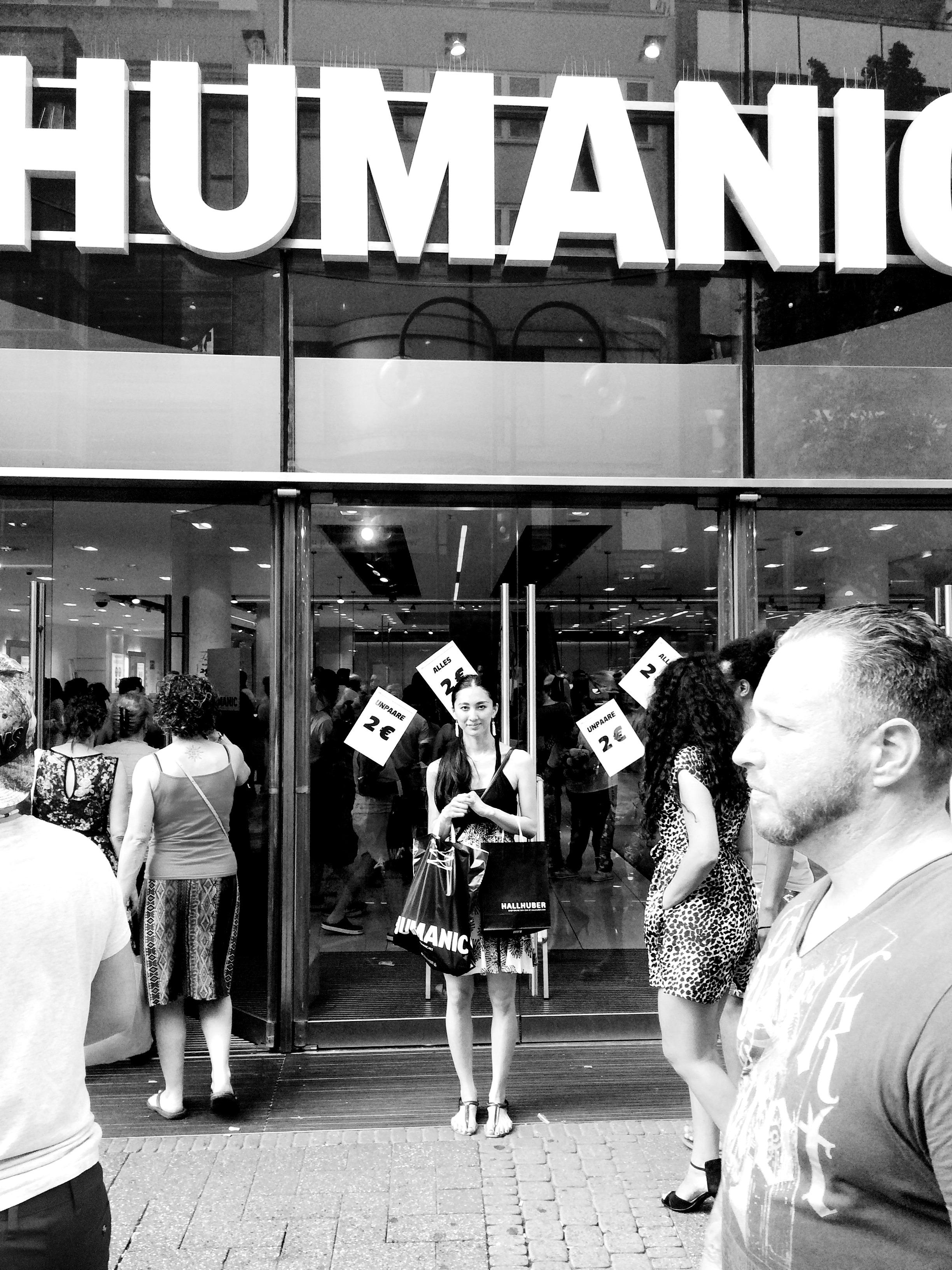 04. Juli 2015: vor HUMANIC