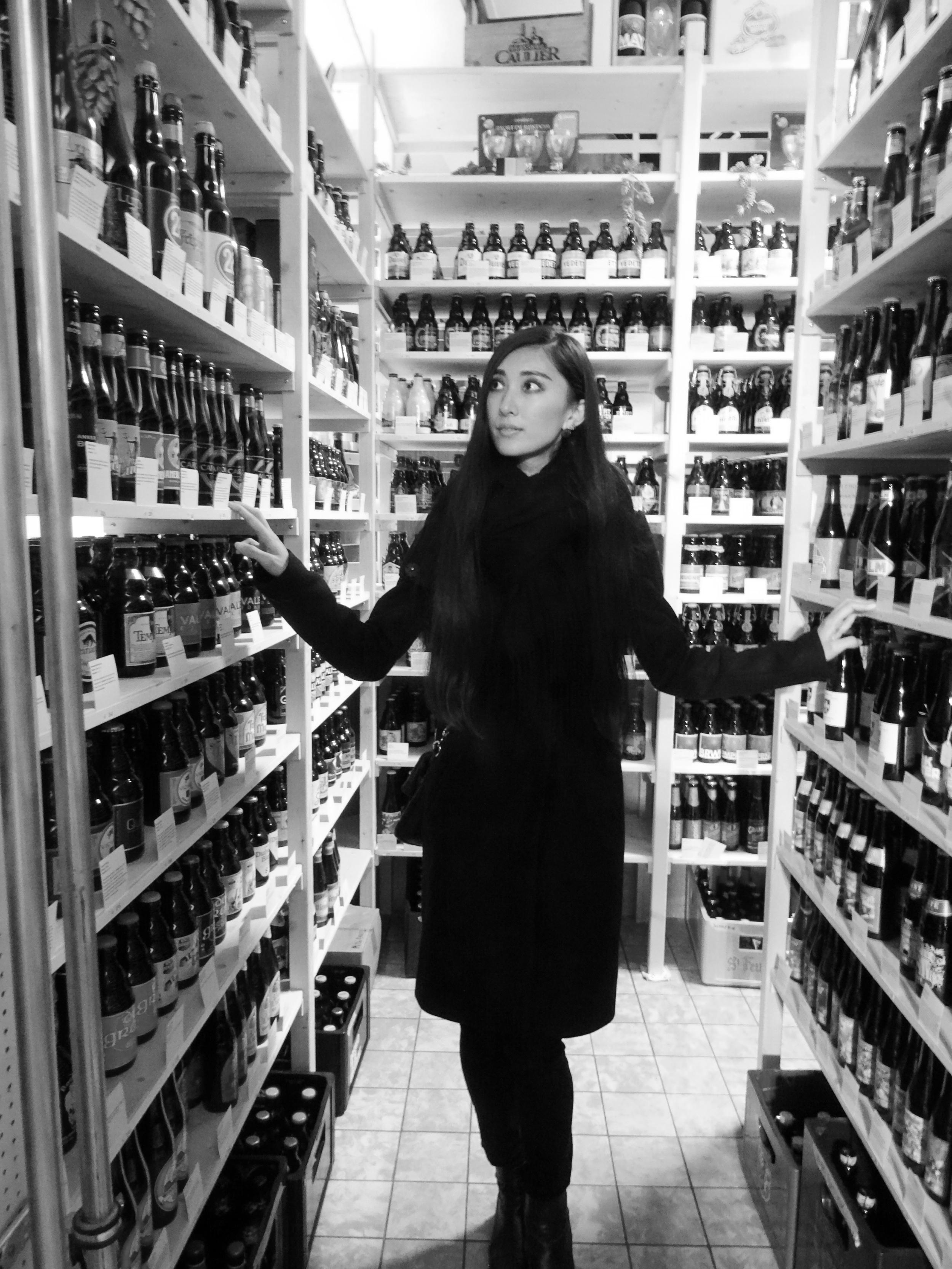 14.Nov.2015 : viele Biere in einem Bierladen