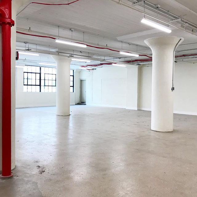 New space to design / New opportunities! New project for the fall. @industrycity #brooklyn #interiordesign #survey #officedesign #comingsoon