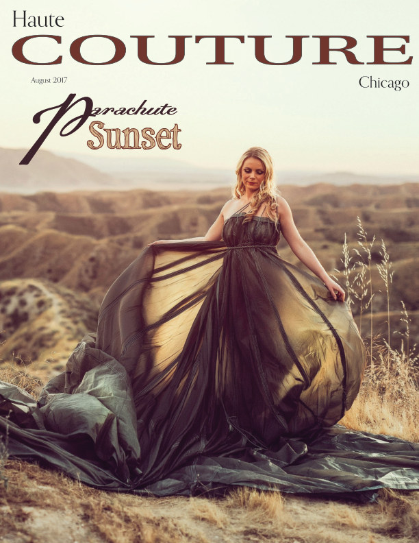 Haute Couture Chicago, August 2017 Cover