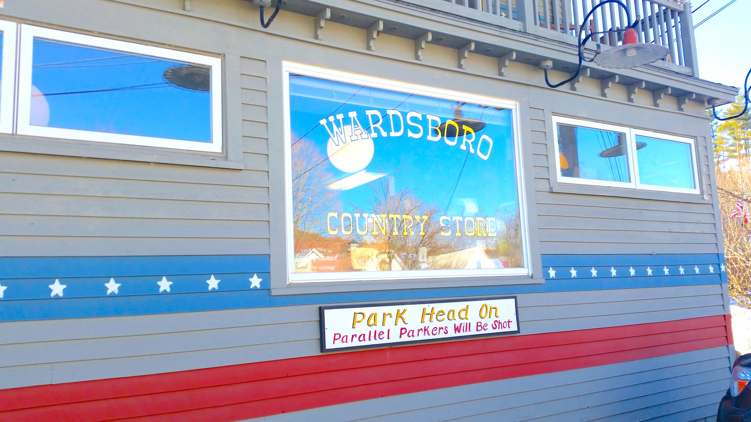 Front of the Wardsboro Country Store