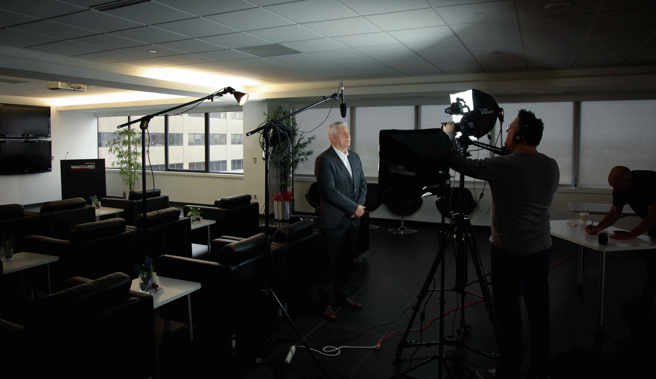 Making a corporate video