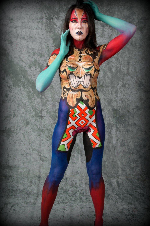 Body Painting Deborah Brommer