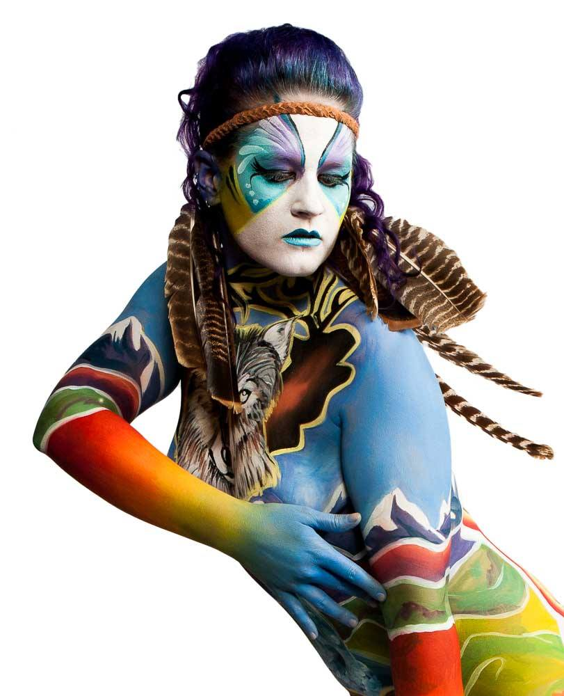 Body Painting Deborah Brommer