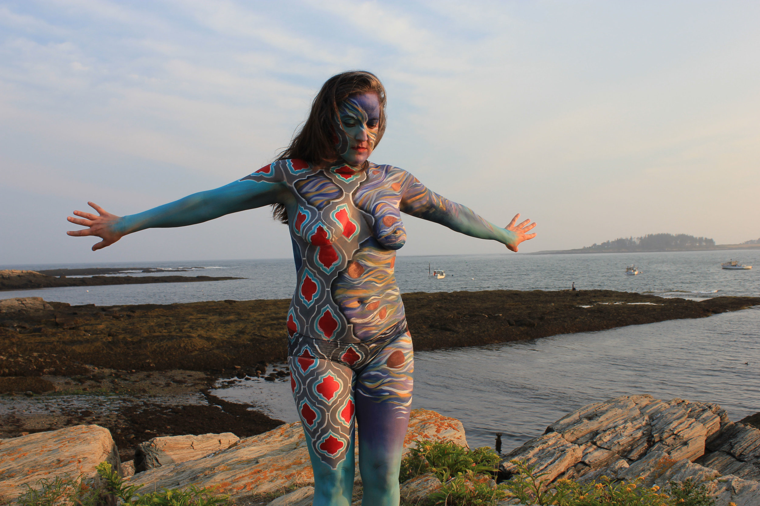 Therapeutic Body Painting, Portland Maine