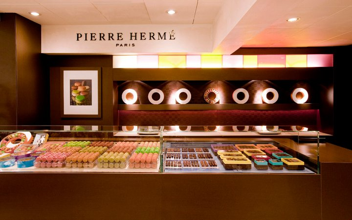 Pierre Hermé in Paris, where Art admits he spent about $70 on pastries — all for himself