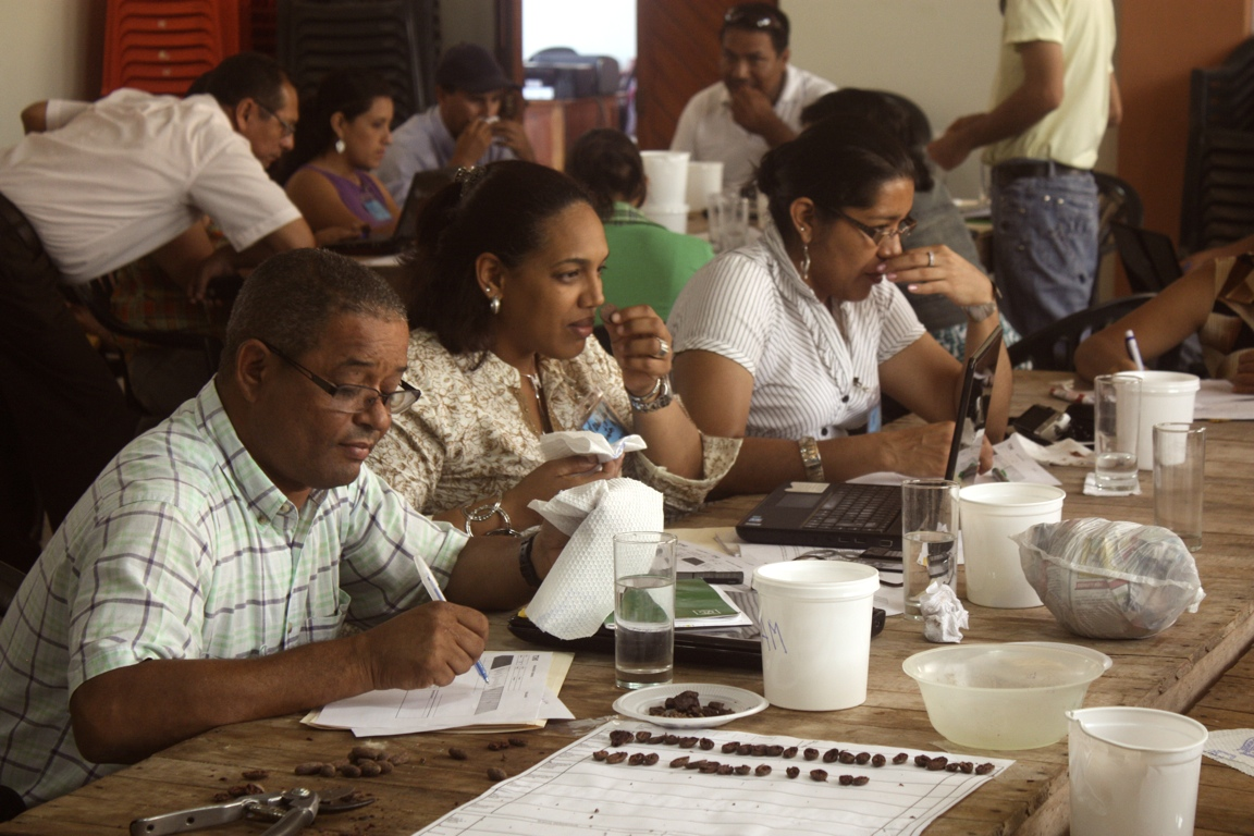 TCHO sensory training in Peru