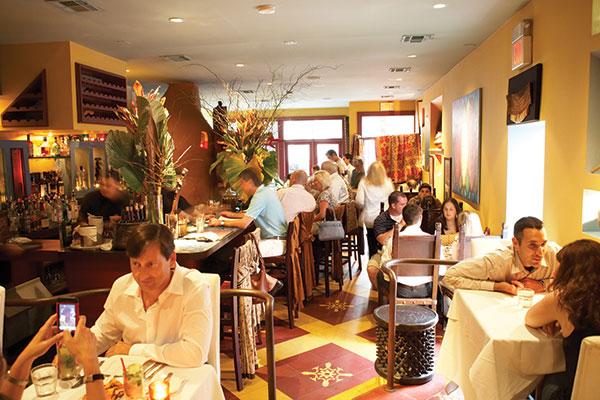 Cucharamama, one of Maricel's restaurants in Hoboken