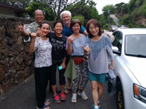 ベトナム人ご夫婦と通りすがりの私達