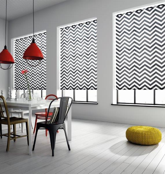 Roller, Venetian and Vertical Blinds   For a clean simple look for home or the workspace we offer a range of roller, vertical and venetian blinds from Rol-lite. Roller blinds available in a huge range of fabrics including 'customers own' option. Venetians are available in timber and metal and we have a range of verticals in many options . If you prefer a softer look - check out our bespoke solutions made in our workshop here.
