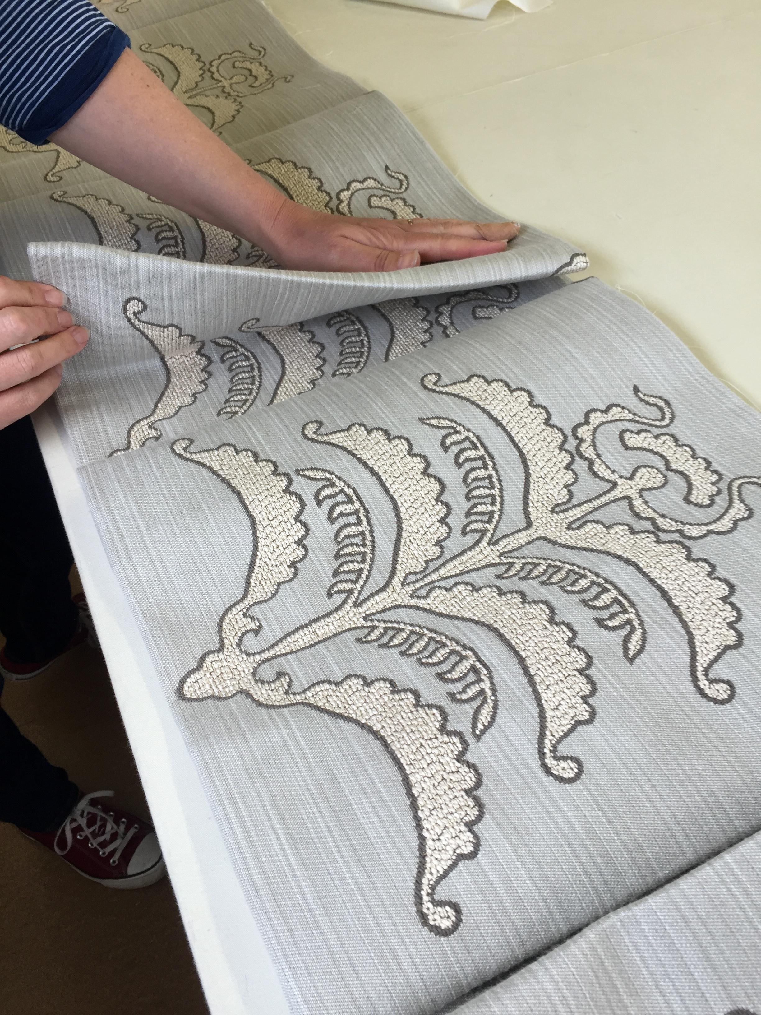 'Craftswomanship' in the workshop.