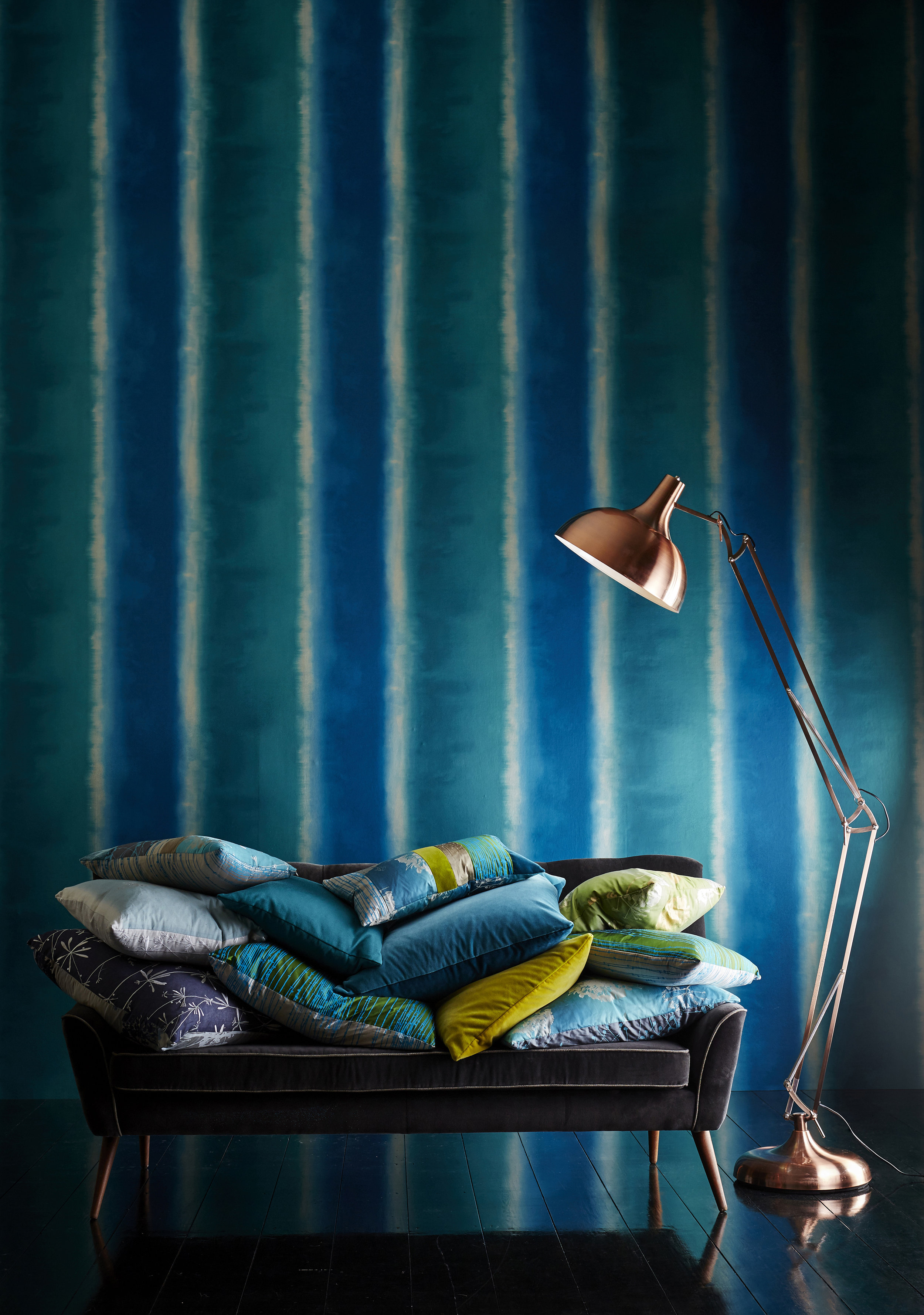 Photograph courtesy of Harlequin Fabrics - Callista range of fabrics and wallpapers