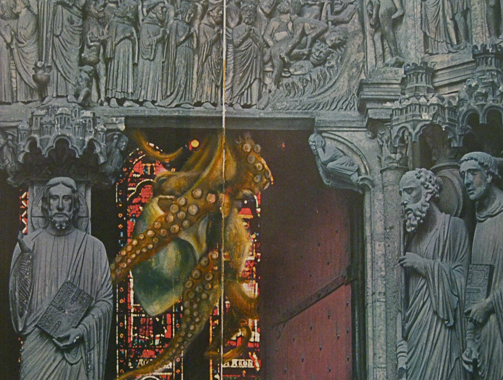 Animated Carvings for Lavish New Portals (detail)