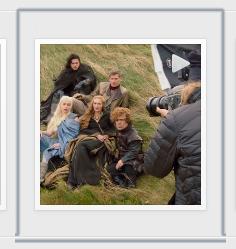 "Instagram video montage of Annie Leibovitz's Vanity Fair ""Game of Thrones"" photo shoot."