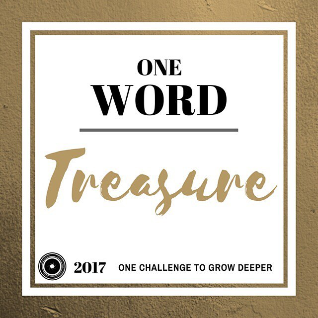 """Our first post """"Treasure"""" in our discussion series """"One Word"""" is up! Click on the link in our bio to read it!"""