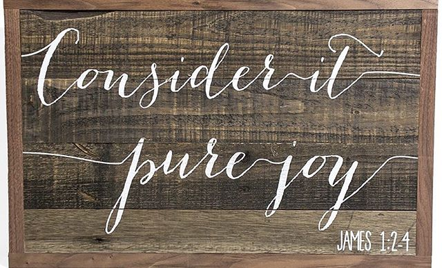 Consider it pure joy, my brothers and sisters, whenever you face trials of many kinds, because you know that the testing of your faith produces perseverance. Let perseverance finish its work so that you may be mature and complete, not lacking anything. James 1:2-4 #WorshipXposedVOTW #VOTD