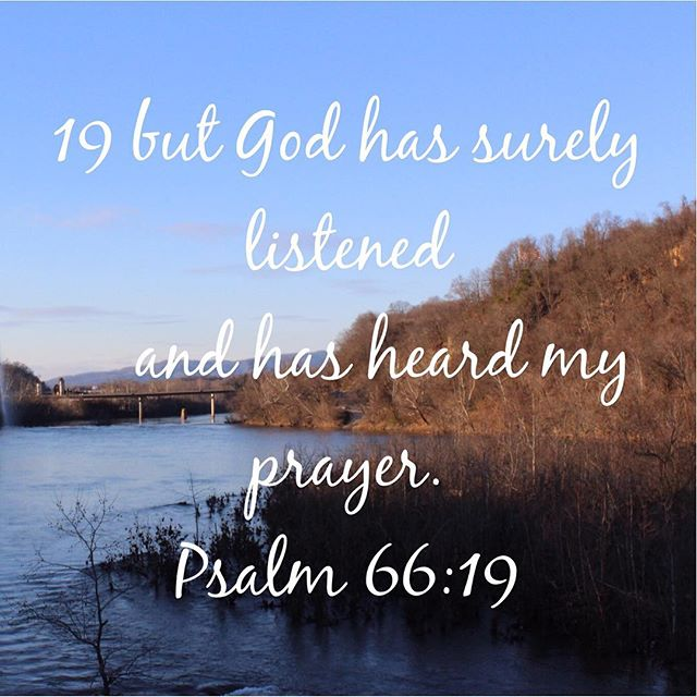 Psalm 66:19 #VOTD #worshipxposedvotw