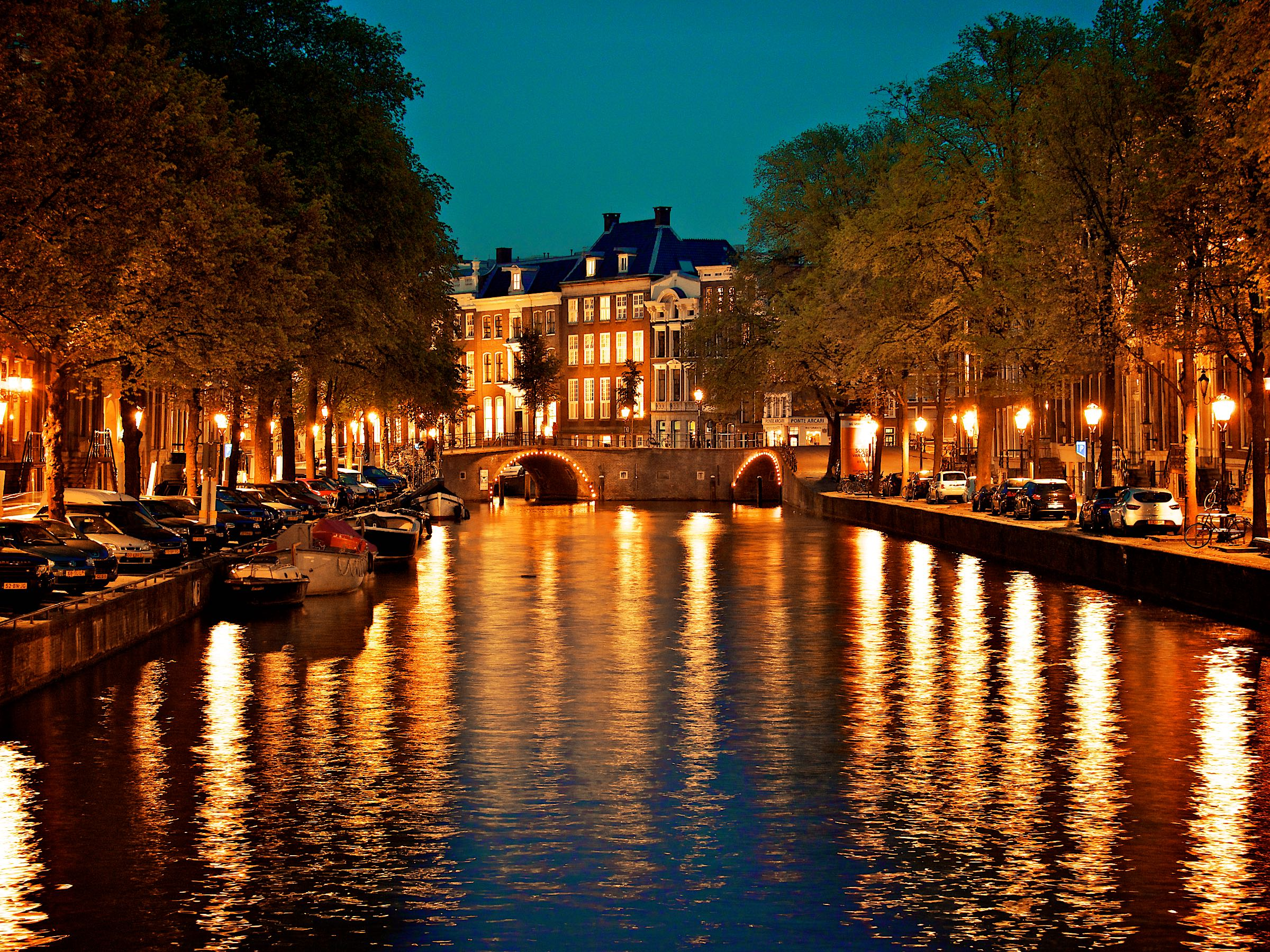 Nightly Canals