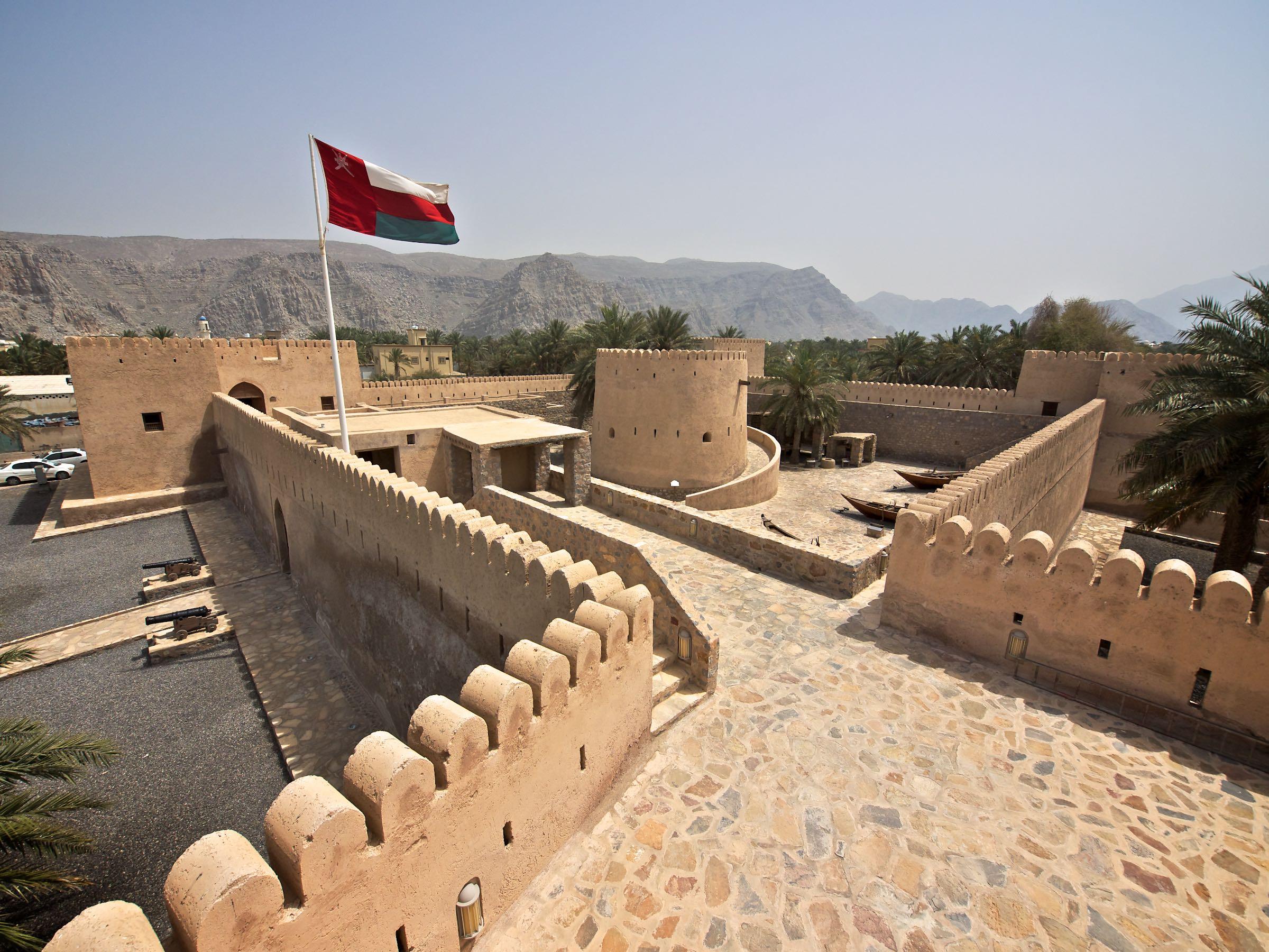 View over Khasab Castle