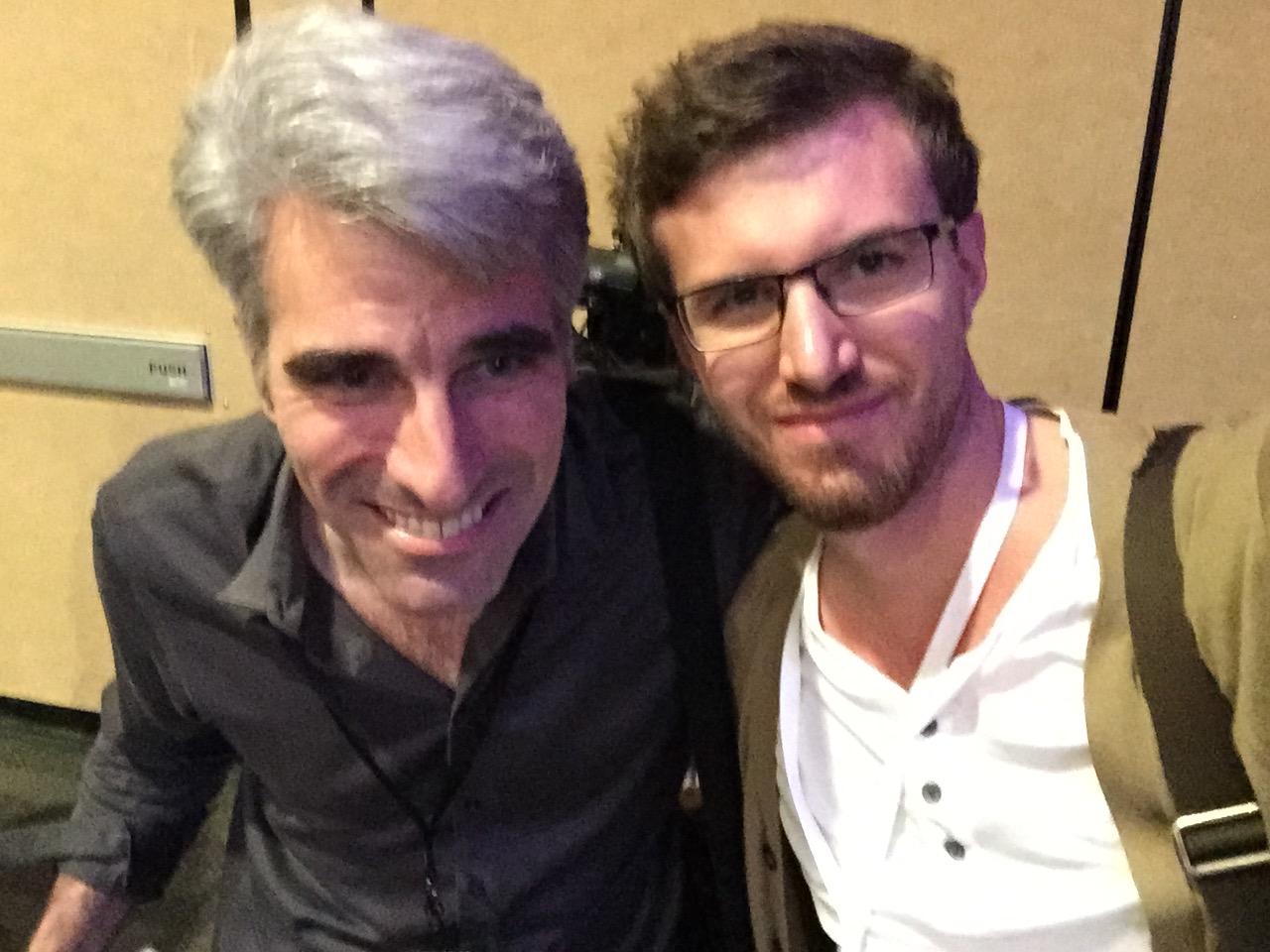 With Craig Federighi