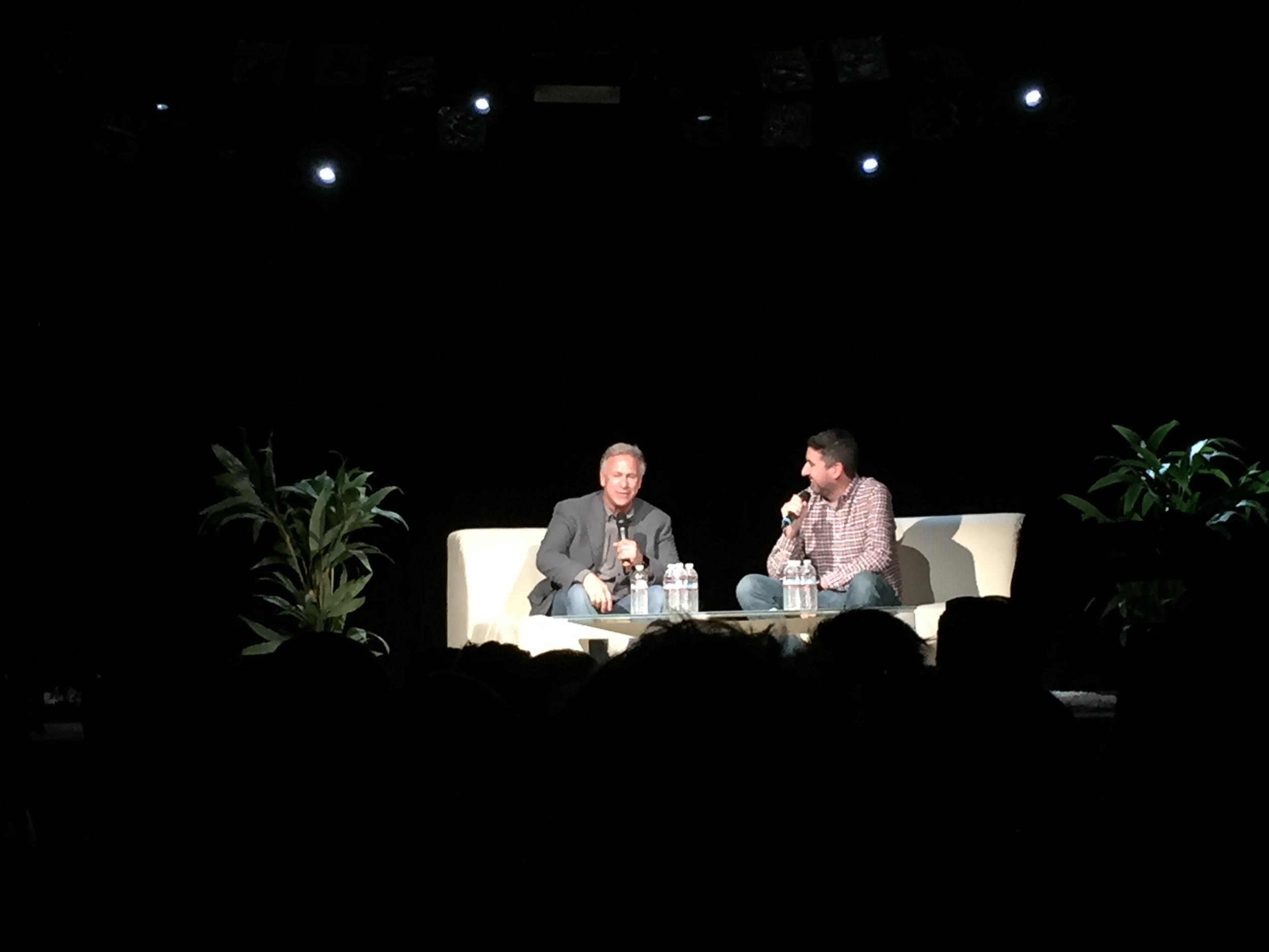 Phil Schiller with John Gruber