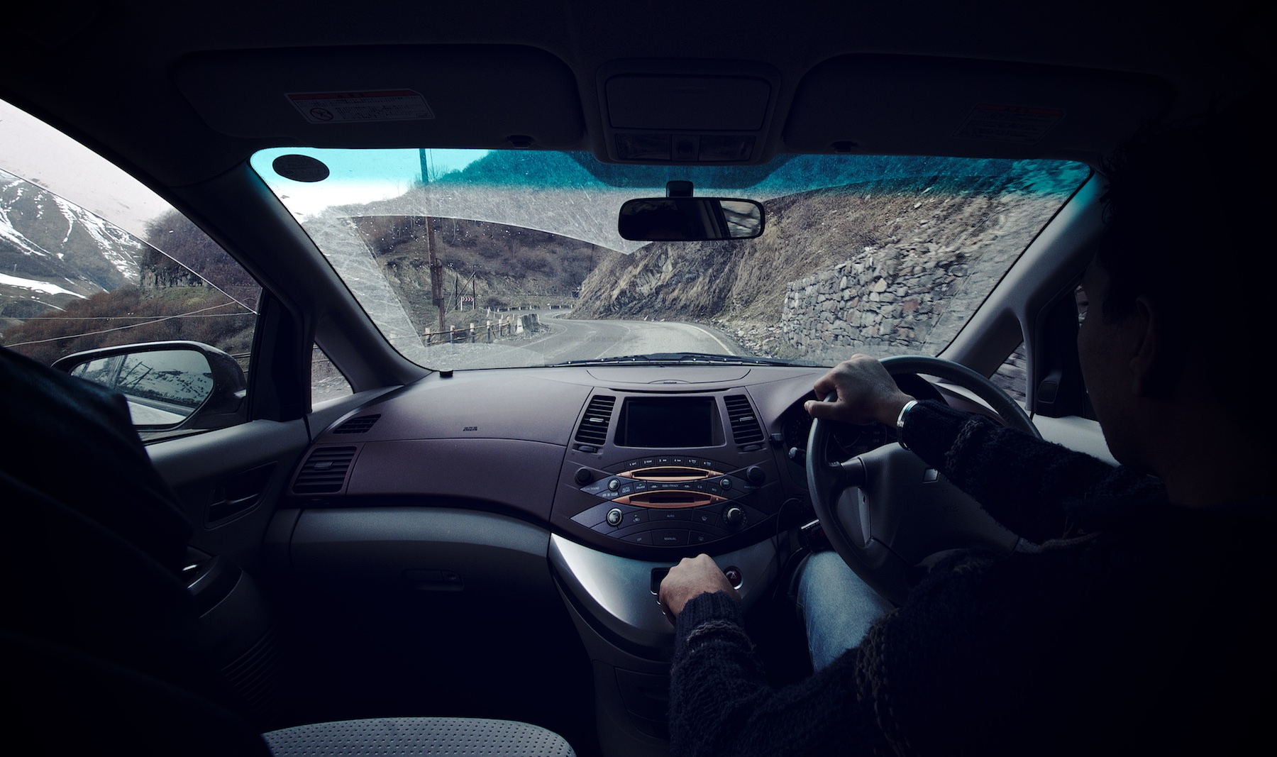 Driving Up the Mountains