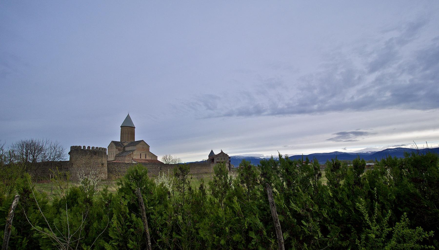 Alaverdi Monastery at Dusk
