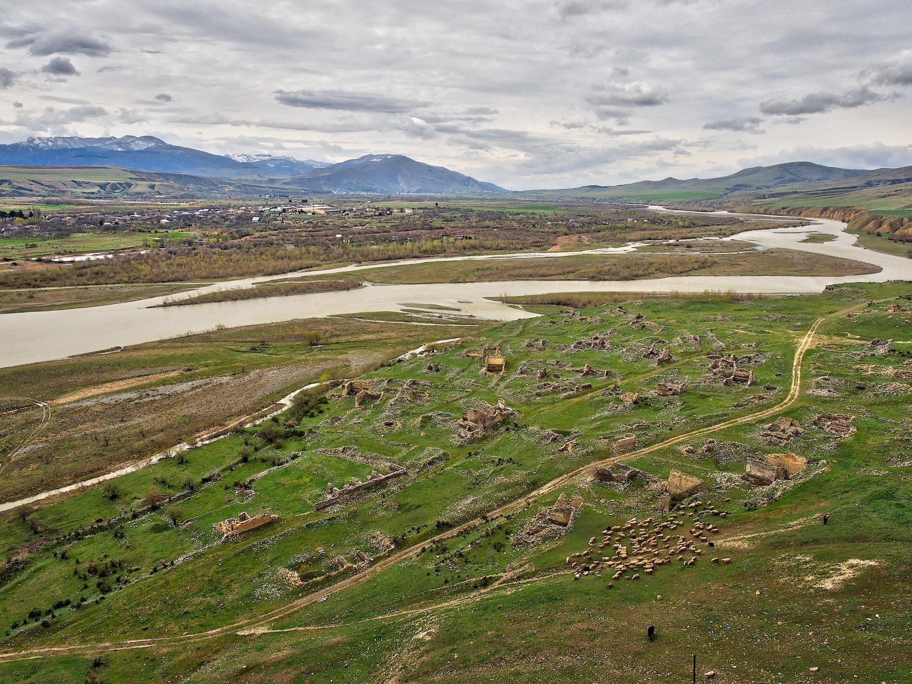 View from Uplistsikhe