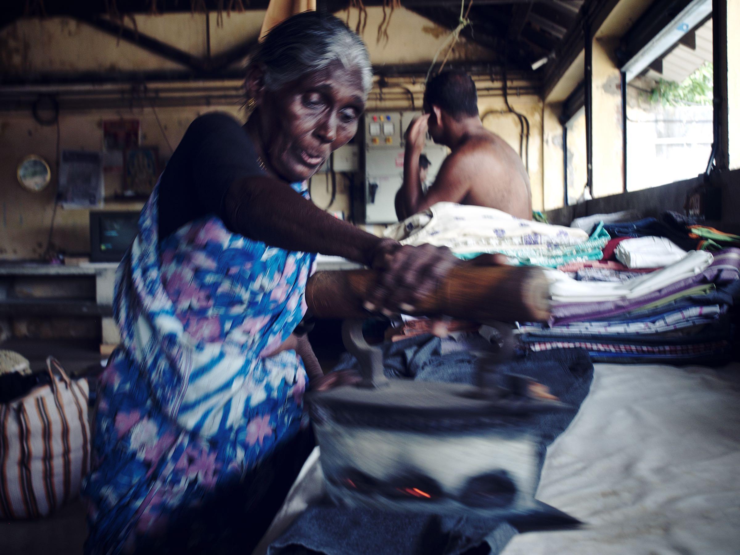 Traditional Ironing