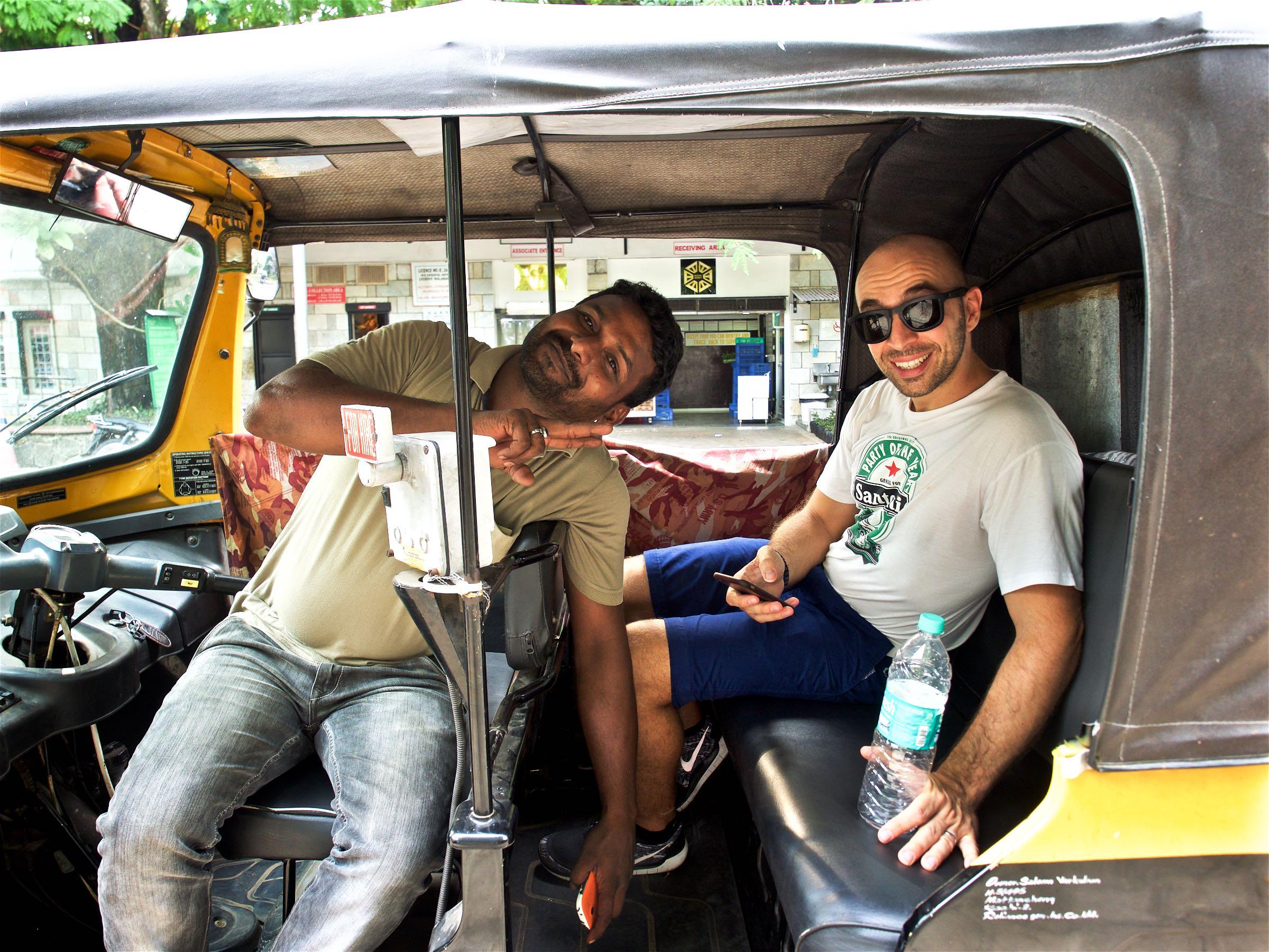 Dimitri and the Tuk Tuk Driver