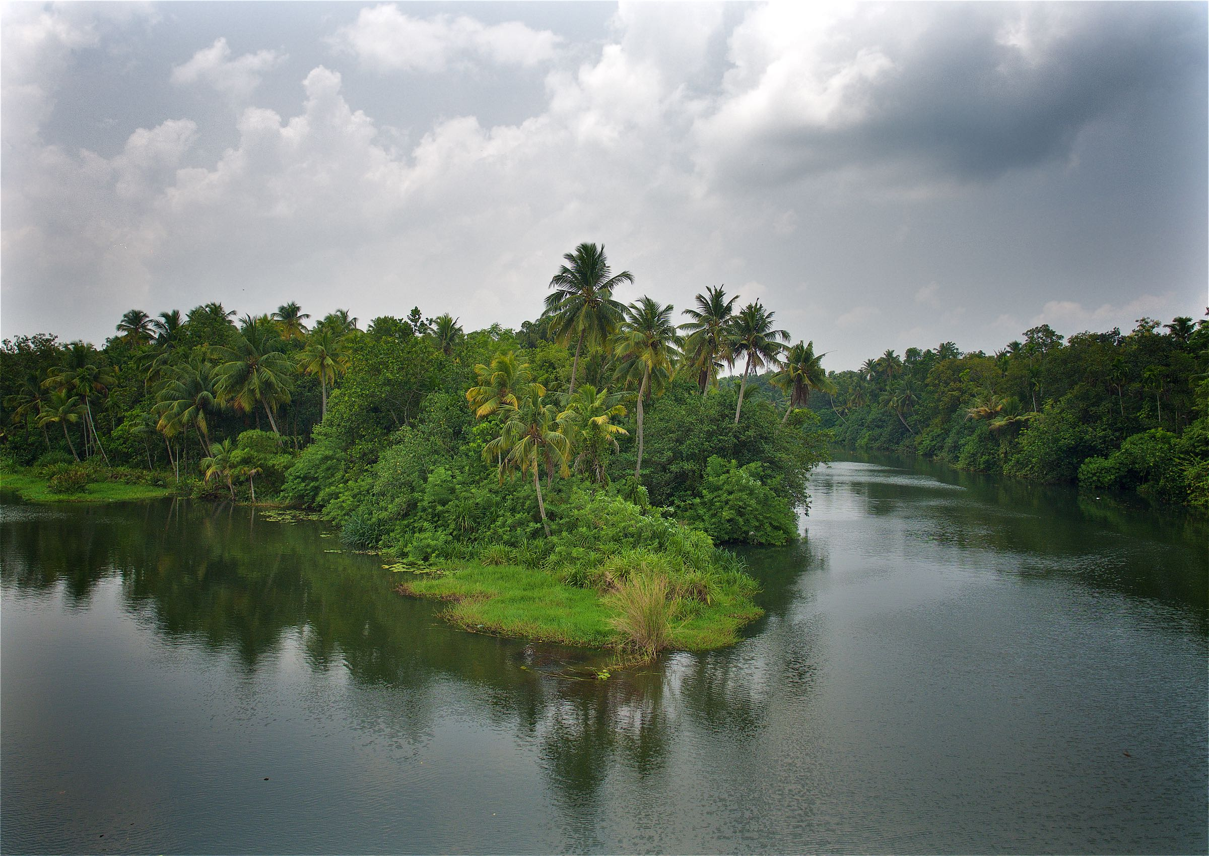Backwaters from Above