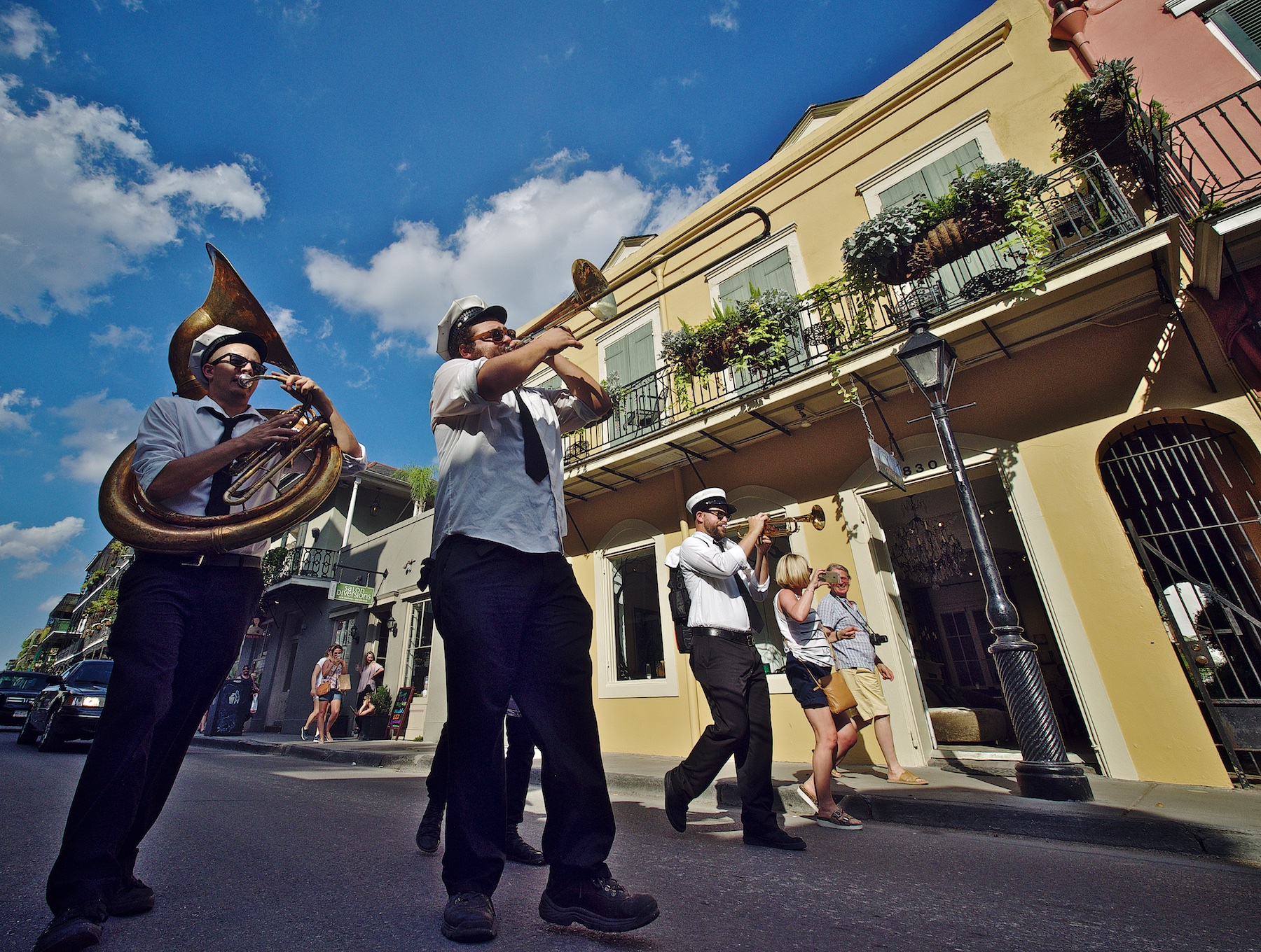 4 Man Marching Band