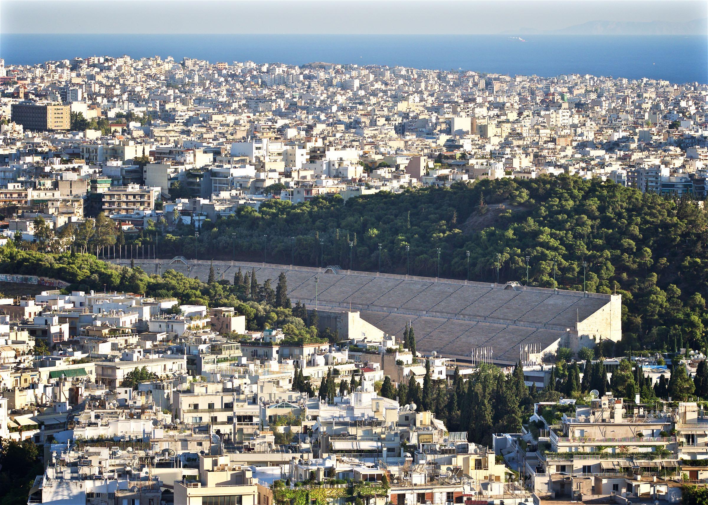 View over the Panathenaic