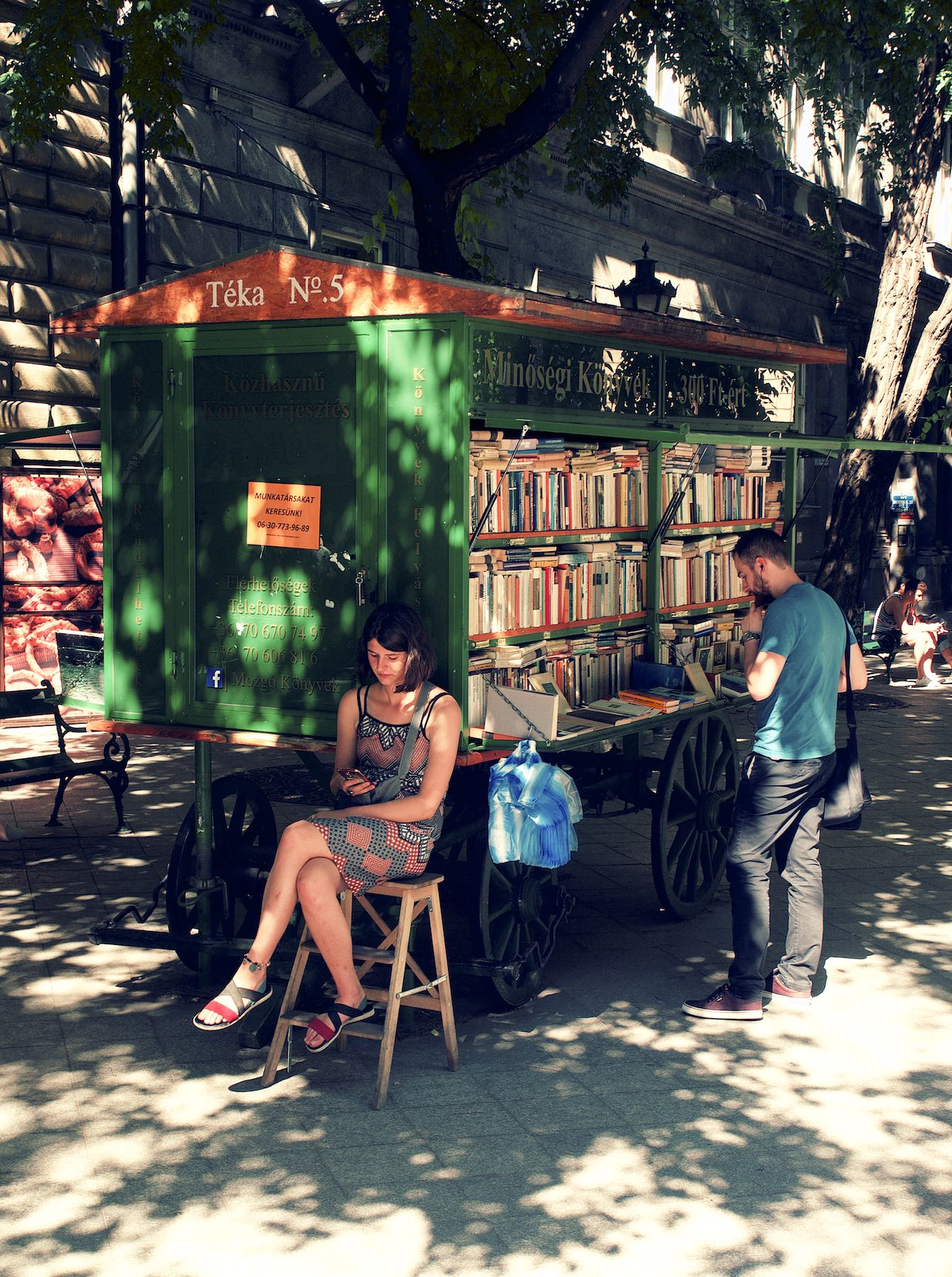 Movable Book Store