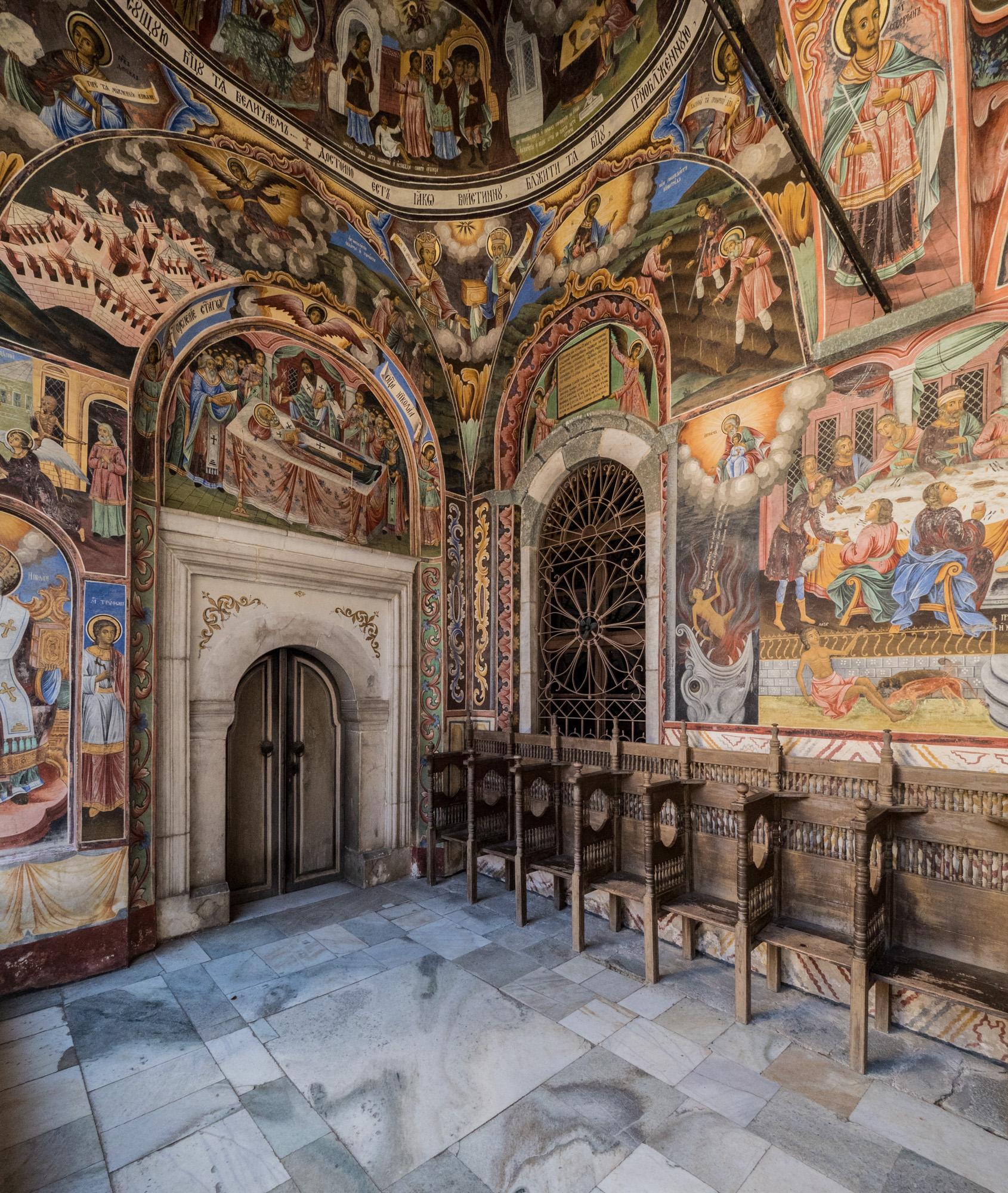 Exterior Frescoes