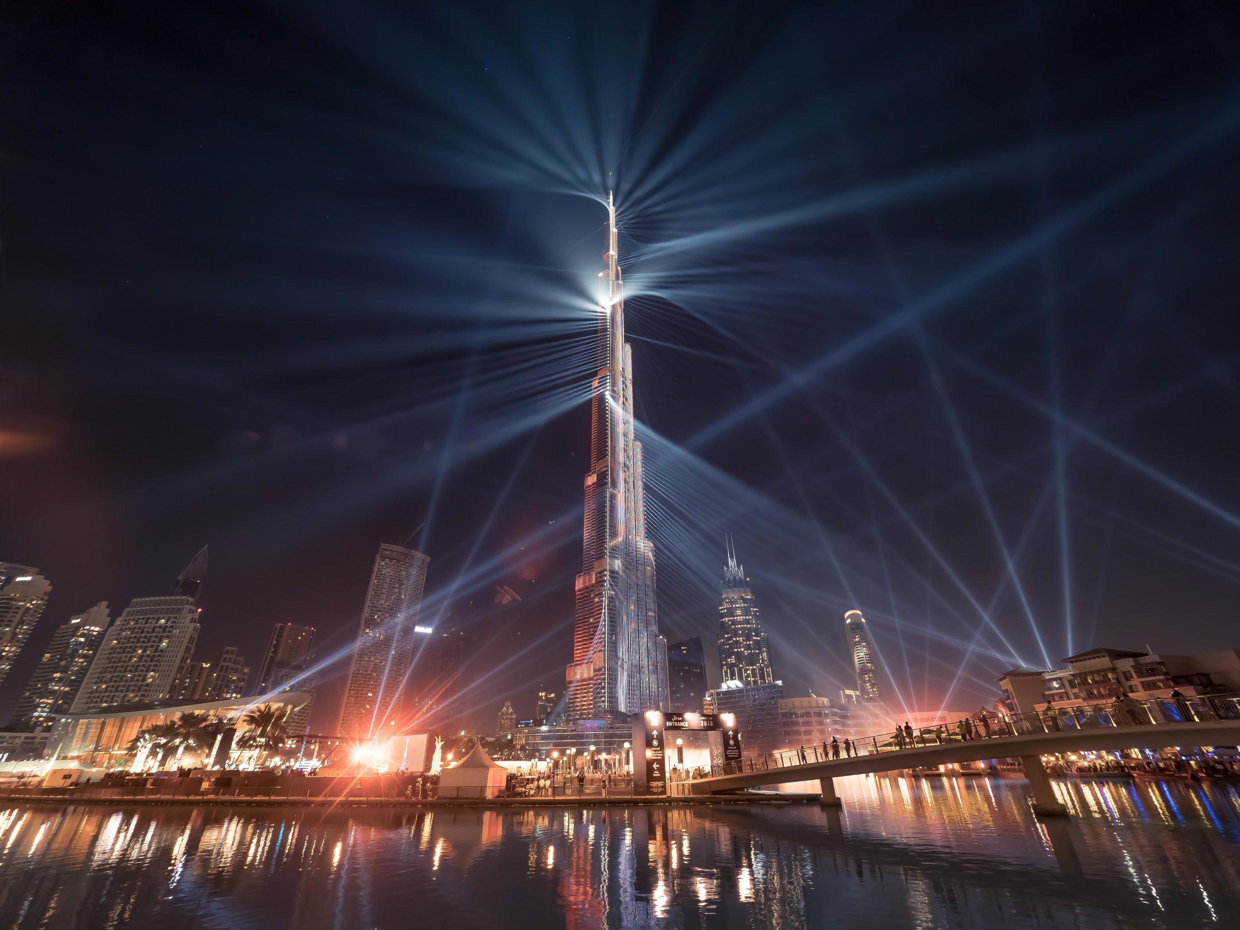 Downtown Dubai - LightUp2018
